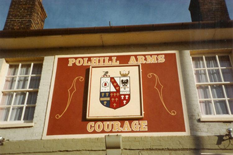 POLHILL ARMS, KENT COUNTY, SEVEN OAKS